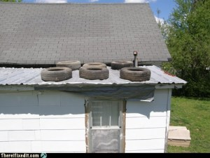 Hmmm, roof installation methods are seriously substandard!