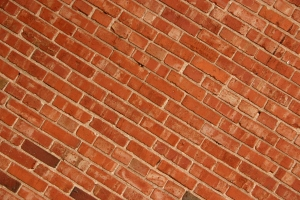 The brick wall we hit.