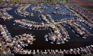 This is an aerial view of the area, but not our bay.