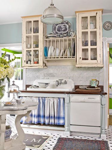 Diy Kitchen Curtains House Decorating Ideas Pinterest Curtain Rods, Towels And Cabinets photo - 6