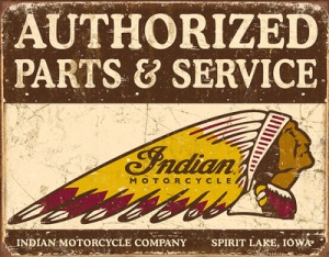 authorized-indian-parts-and-service-tin-sign
