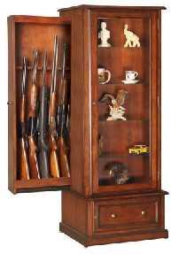 hidden rifle storage